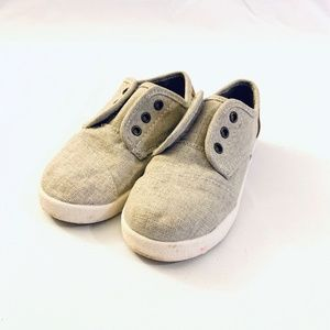 Toms Toddler Size 9 Great Condition! Velcro Sides
